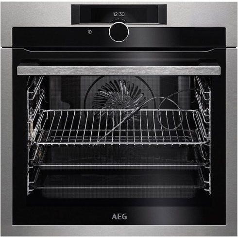 AEG BPE842320M Beépíthető sütő, pirolitikus tisztítás, maghőmérő, TFT érintőkijelző