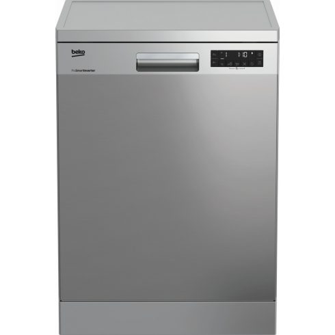 BEKO DFN28422X Inox Szabadonálló mosogatógép